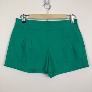 =J CREW=PLEATED FRONT DRESS SHORTS 0